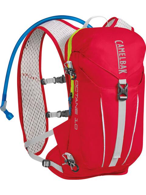 CamelBak Octane 10 Trinkrucksack Crimson Red/Lime Punch